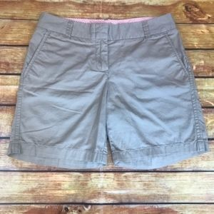 "J. Crew Broken-In 7"" Chino Shorts Khaki"